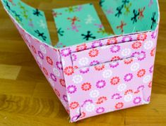 Pinterest UnTutorial Solved... my FQ Sized Fold Up Baskets! — SewCanShe | Free Daily Sewing Tutorials