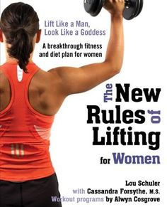 "This book refutes the misconception that women will ""bulk up"" if they lift heavy weights.  Muscles need to be strengthened to achieve a lean, healthy look. Properly conditioned muscles increase metabolism and promote weight loss—it's that simple.  The program demands that women put down the ""Barbie"" weights, step away from the treadmill, and begin a strength and conditioning regime for the natural athlete in every woman."