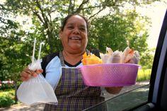 agua de coco 23 Luglio 2013 - tope en la calle - Mexico