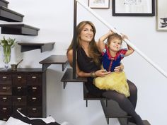 Neat, eclectic place..i like it! Her Off-Duty Life - Genevieve Gorder at Home on HGTV