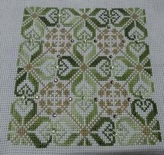 Embroidery Sampler, Hardanger Embroidery, Hand Embroidery Designs, Cross Stitch Embroidery, Embroidery Patterns, Xmas Cross Stitch, Cross Stitch Needles, Cross Stitching, Rugs
