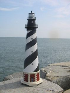 Lawn Ornament Lighthouse - Cape Hatteras would love this for the back yard