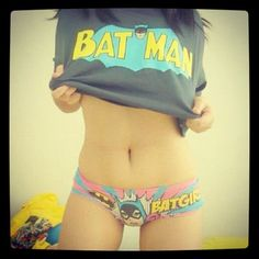 Want! not the girl but the shirt and underwear!