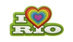 Imã emborrachado – I love Rio Verde  Código: FMRJ005 Tamanho: 7,2 x 4,0 cm x 0,4 cm  Material:  Emborrachado em alto-relevo (3D) com imã flexível de 1,5 mm.  Peso aprox.: 30g.