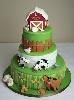 Farm-Themed First Birthday