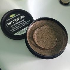 LUSH Cosmetics Cup O' Coffee Exfoliating Face And Body Mask