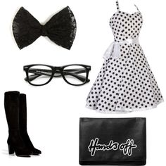 """Cute """"Geek"""" outfit  on Polyvore"""