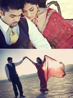 Edgy, Bollywood Engagement Session ~ Sarah loves Ahmer