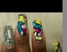 Inspiration for 'ricany nails '