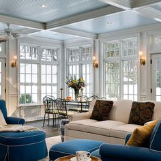 Full View Windows With Transom For Great Room Kitchen Combination Design, Pictures, Remodel, Decor and Ideas - page 8