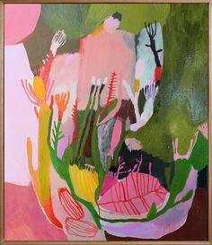 October Blooms by Megan Grant Magazine Design Inspiration, Small Canvas Art, Abstract Art For Sale, Art For Sale Online, Motif Floral, 2d Art, Australian Artists, Affordable Art, Art Inspo