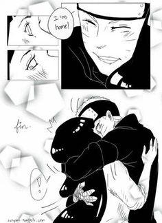 Naruhina: What Naruto Wants by bluedragonfan on DeviantArt Naruto Y Hinata, Naruto Comic, Naruto Cute, Hinata Hyuga, Kakashi, Uzumaki Family, Naruto Family, Naruto Couples, Anime Couples