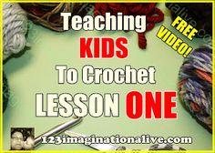 Teaching Kids to Crochet