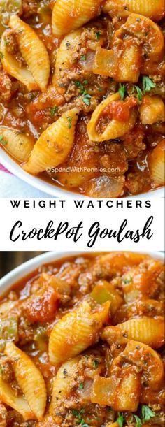 CrockPot Goulash CrockPot Goulash weightwatchers weight watchers is part of Weight watchers crock pot recipes - Crockpot Goulash Recipe, Crockpot Dishes, Crock Pot Slow Cooker, Slow Cooker Recipes, Beef Recipes, Cooking Recipes, Healthy Recipes, Easy Recipes, Low Calorie Recipes Crockpot