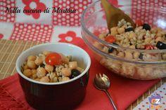 Orzo con ceci e olive ricetta primo piatto vegetariano