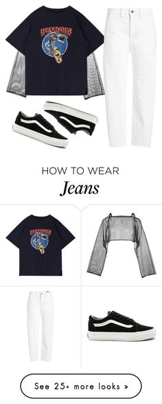 """Edgy like sonic the hedgy"" by ohkayjessica on Polyvore featuring demoo parkchoonmoo, Vince and Vans"