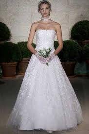 Resultado de imagen para diseños de vestidos de novia de Oscar de la Renta