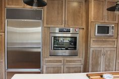Cherry Wood Cabinets with a Cappuccino Stain