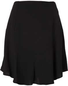 $350, Black Skater Skirt: Carven Skater Skirt. Sold by farfetch.com. Click for more info: https://lookastic.com/women/shop_items/131935/redirect