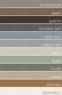palette de couleurs marines