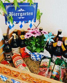 DIY Mini Biergarten selber machen l Männer Geschenke l Bierliebhaber l Basteln l Selbermachen l Mit Liebe schenken