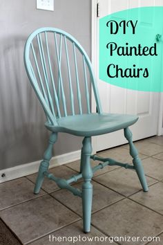 the naptown organizer: Secondhand Sunday #6 - Kitchen Table Chairs