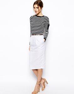 ASOS+Linen+Pencil+Skirt+with+Belt