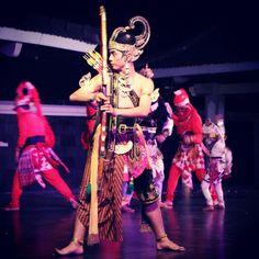 Ramayana ballet,  @ purawisata, jogja, indonesia