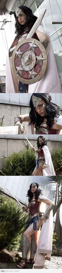 Warrior Wonder Woman by Meagan Marie