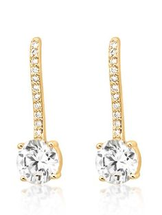 18K Gold Plated Exclamation Earring For Women.