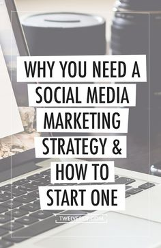 Why You Need A Social Media Marketing Strategy & How To Start One: http://www.twelveskip.com/marketing/social-media/1414/start-social-media-marketing-strategy