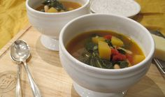 Minnestrone with Delicata Squash | Squash Blossom Kitchens