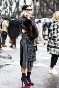 | Street style | Milan Fashion Week