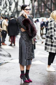 | Street style | Milan Fashion Week