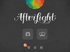 Afterlight, Simple Photo Editing App for Android and Iphone