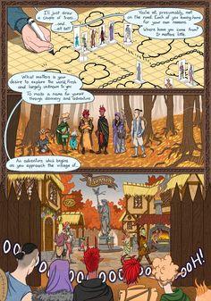 Dungeon Diaries :: Liannon | Tapastic Comics - image 1
