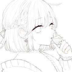 「フリー線画」の検索結果 - Yahoo!検索(画像) Anime Drawings Sketches, Cool Art Drawings, Anime Sketch, Drawing Base, Manga Drawing, Manga Art, Lineart Anime, Anime Boy Zeichnung, Wie Zeichnet Man Manga