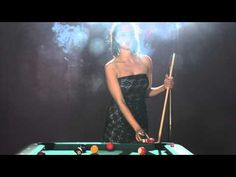 Sarah chain smokes Marlboro reds while playing pool - 27th May 2013