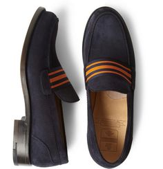 O'Keeffe - Cambridge Suede Loafers. Nice casual shoes, nice price!
