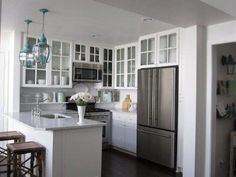 Image result for kitchens small white