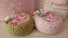 Girly Pincushions ~