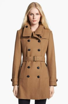 The perfect wool trench
