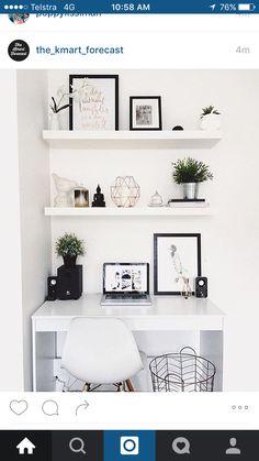 Desk nook