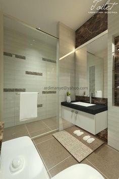 desain interior kamar mandi konsep simple