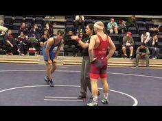 2016 SFU International: 70 kg Caleb Rutner vs. Joseph Palmeri