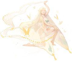 노랑나비 : 사막지역에 서식하며, 춤과 노래로 사람들을 홀린다.
