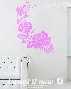 Roses Wall Decals – i want it now