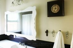 Dress Up Your Bathroom Medicine Cabinet! TUTORIAL