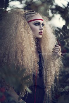 Love the hair and make-up on this image. Josie by Amanda Diaz on 500px