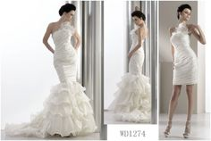 Removable Skirt in Wedding Dresses